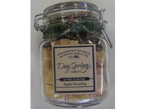 Warm Apple Dumpling Scent Candle Melt Dayspring 11 Ounce Jar
