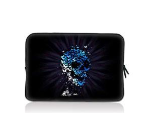"Blue Skull 17.1"" 17.3"" inch Laptop Bag Sleeve Case for Apple MacBook pro 17/Dell Inspiron 17R Vostro XPS Alienware M17x/Samsung ..."