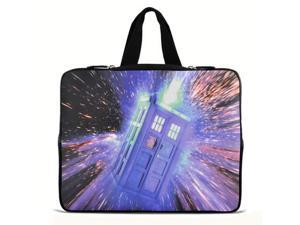 """Doctor&who 9.7"""" 10"""" 10.2"""" inch Laptop Netbook Tablet Case Sleeve Carrying bag with Hide Handle For iPad/Asus EeePC/Acer Aspire ..."""