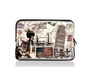 "History in the bag 9.7"" 10"" 10.2"" inch Laptop Netbook Tablet Case Sleeve Carrying bag For iPad/Asus EeePC/Acer Aspire one/Dell ..."