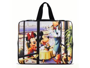 """Cute Cartoon 9.7"""" 10"""" 10.2"""" inch Laptop Netbook Tablet Case Sleeve Carrying bag with Hide Handle For iPad/Asus EeePC/Acer ..."""