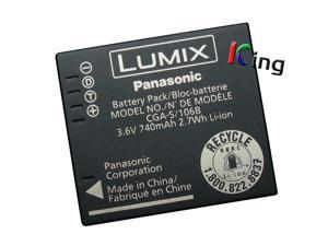 Genuine Panasonic CGA-S/106B CGA-S009 DMW-BCF10 Li-ion Battery for DMC-FP8 DMC-FT1