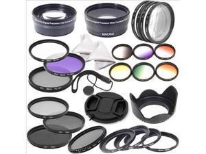 Super Lens Filter Set 58mm for Canon EOS 700D 650D 600D 550D 500D 100D 30D LF132