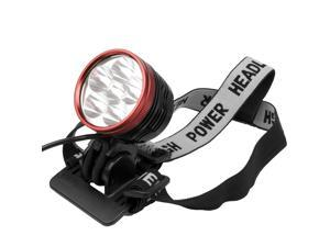 CREE XM-L T6 LED Light unit Headlamp Headlight 8000Lum SET(EU Plug) + Rear Tail LIGHT LD201-NE1