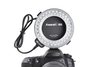 Aputure AHL-C60 LED Light Macro Ring Flash Canon EOS T2i T3i T4i 550D 600D LF172