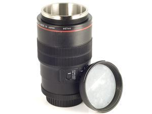 Camera Lens Coffee Cup Mug 1:1 EF 100mm Thermos + Xmas Gift Pouch For Camera Fans DC63