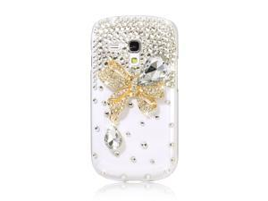 Glitter Crystal Bling Case Cover For Samsung Galaxy S3 i8190 S3 III Mini PC400
