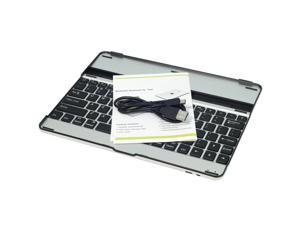 Mobile Wireless Bluetooth Keyboard Aluminum Case Cover For new iPad3 ipad