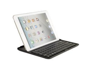 BLUETOOTH KEYBOARD Aluminum SHELL SNAP ON CASE STAND COVER FOR iPAD MINI