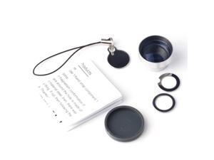 5 in 1 Detachable Wide Angle Marco+180 Fish Eye Lens for ipad iphone 4S 4 DC114