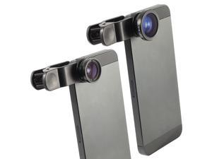 180° Fish Eye + Wide Macro Lens for iPhone 4G 4S 5G Samsung Mobile Phone DC264B