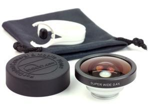 Silver 0.4x Super Wide Lens for Samsung Galaxy Note2 II N7100 DC225