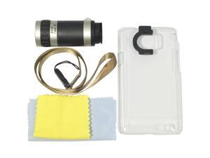 8X Telescope Camera Lens Clear Case Cover for Samsung Galaxy SII S2 i9100 DC168