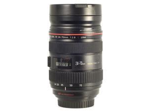 ZOOM-ABLE! 1:1 Model Canon 24-70mm Lens Stainless Lens Cup Coffee Mug 350ml DC64