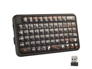 Wholesale 10 pcs of Mini Portable 2.4GHz Wireless Keyboard Fly Air Mouse Combo for HDPC Win 7 CN56x10
