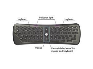 Wireless Mini Keyboard Fly Air Mouse for PC Laptop Mac Mini PC CN45