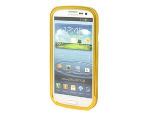 Metal Aluminum Frame Bumper Case for Samsung Galaxy S3 GT-i9300 yellow PC251Y