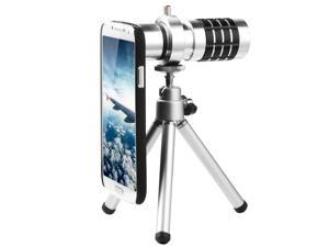 Phone Camera Lens 12X + Tripod + Case for Samsung Galaxy S4 SIV GT-i9500 DC321