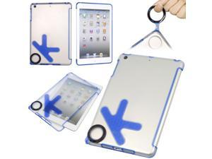 Fashion Blue OK style hard gel case silicone cover for apple ipad mini PC342L