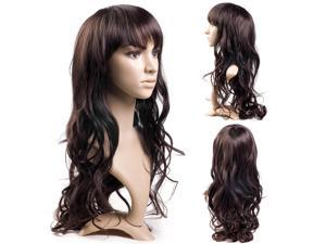 New Sexy Womens Girls Ladies Fashion Style Wavy Curly Long Hair Full Wigs MT53-NE1
