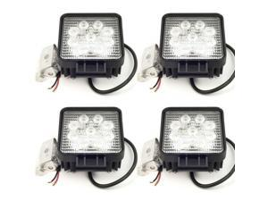 27W LED Work Lamp Flood Light 12V/24V Waterproof IP67 LD80 (4-Pack)