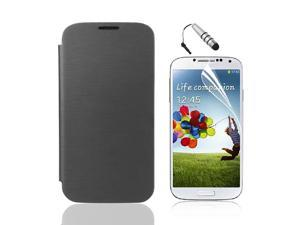 Smart PU Leather Flip Battery Case Cover For Samsung Galaxy S4 SIV i9500 PC511B-NE1