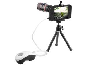 8x Lens + Camera Remote Release Shutter Cable Photography for iPhone 4G 4S DC343