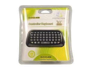 Live Messenger Kit Keyboard Typing Device Pad for Xbox 360 Controller Black GA064B