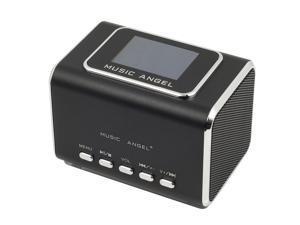 Black USB portable Music Player Mini Speaker For iPod iPhone PC FM TF Card IP51B