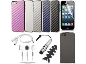 16in1 Bundle Set For iPhone 5 Bundle Set Flip Case Fashion Hard Case Cover BC224