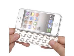 Super Thin Aluminum Magnetic Bluetooth Keyboard Case For iPhone 5 + Film PC474W