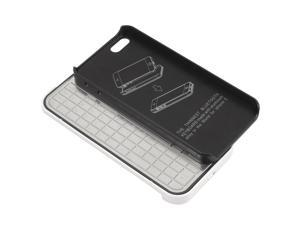 For iPhone 5 5G /Ultra Thin 2mm Megnetic Metal Bluetooth Keyboard Case PC474B-NE1