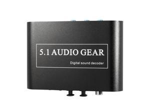5.1 2.1Channel AC3 DTS Audio Gear Digital Surround Sound Decoder HD player (EU PLUG)AC112