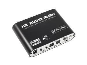 1x  Digital Audio Decoder+•1x  Optical Fiber Cable+•1x  100-240V input/9V output Power adapter (EU PLUG)AC113-NE1