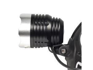 CREE XM-L T6 LED Headlamp/18650 Rechargeable battery/AC 100v-240v 50/60HZ Charger (US Plug)/Car Charger LD143-NE1