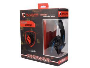 Blue Gaming PC Game Headset Stereo Headphone Headband with Microphone IP78L