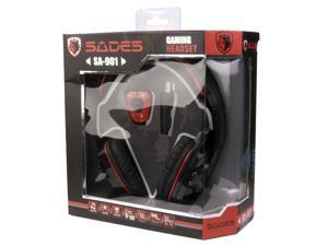 GAMERS 7.1 SOUND EFFECT GAMING HEADPHONE W/ MICROPHONE - Red IP79
