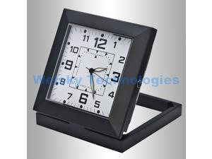 Black Spy Clock Mini DVR Pinhole Security Camera SW29B