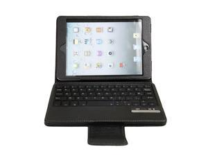QWERTY (Bluetooth France Keyboard) with Case Smart Cover Shell Case For iPad Mini PC531