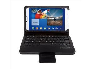 Removable Bluetooth Keyboard + Leather Case For Samsung Galaxy Tab 3 8.0 PC525