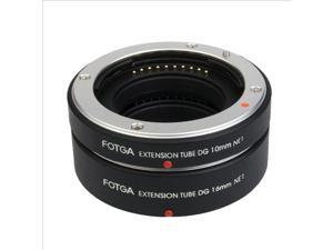 Fotga AF Macro Auto Focus Extension Tube Set for Sony NEX-C3 NEX-5N NEX-7 DC403