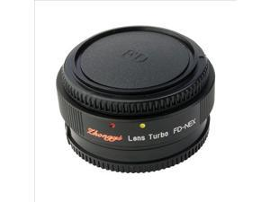Focal Reducer Speed Booster Lens Turbo for Canon FD to Sony NEX 5N 5R Body DC412