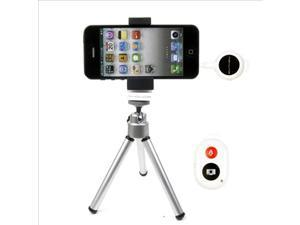 RF Wireless Remote Control Shutter + Holder + Tripod for iPhone 4 4S 5 5S DC426