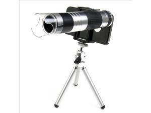 16x Aluminum Zoom Telephoto 220x Microscope Magnifier Lens For iPhone 4 4S DC428