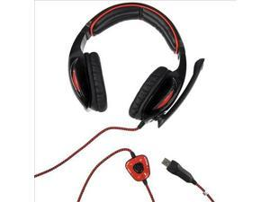 Sades SA902 USB Games 7.1 Surround Sound Effect Gaming Headphone Microphone IP89