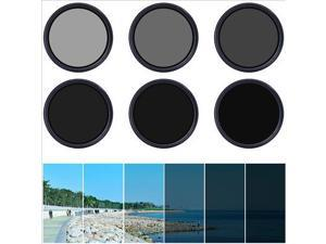 3in1 49mm Variable Neutral Density Fader ND Filter ND2 ND8 ND16 to ND400 LF301