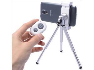 Wireless Camera Bluetooth Remote Shutter + Holder + Tripod Smartphone Kit DC451