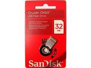 SanDisk 32GB 32G 32 GB Cruzer Orbit USB Flash Drive SDCZ58-032G-B35