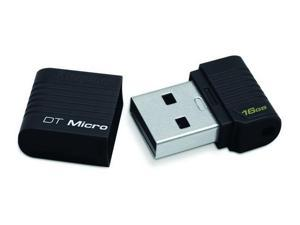 Kingston 16GB 16G 16 GB DataTraveler Micro USB Flash Drive