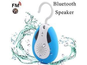 Waterproof Wireless Bluetooth FM Shower Speaker Phone Hands-Free Speaker IP110